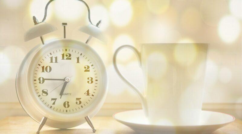 heures pour boire le café